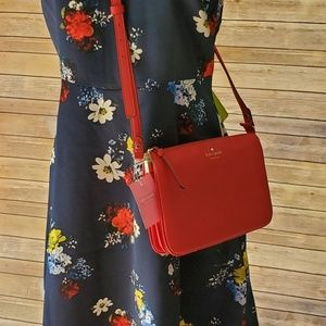 NWT Kate Spade Mulberry Street Madelyne Red Chili